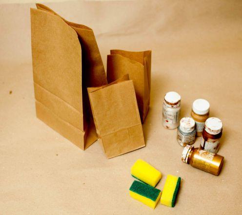 Как сделать пакет своими руками для подарка
