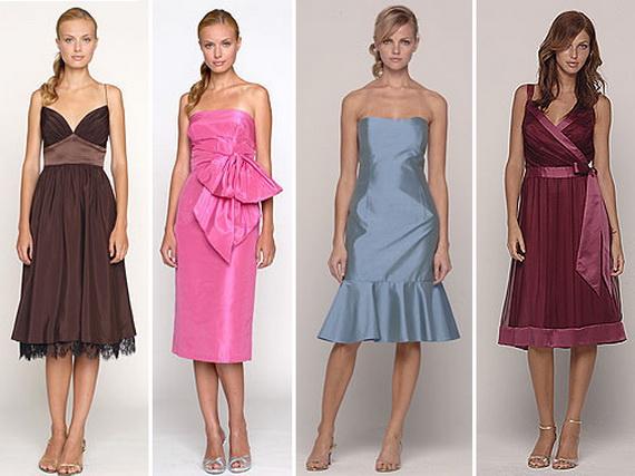 коктейльное платье 2012