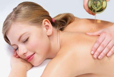 массаж удаления жира живота