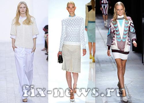 Мода осень-зима 2012-2013. Красивые свитера