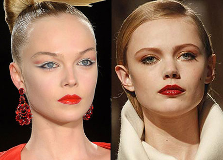 Модный макияж 2012-2013 осень-зима-весна