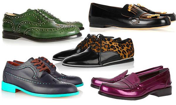Какую носить обувь осенью и зимой 2012-2013. Модная обувь