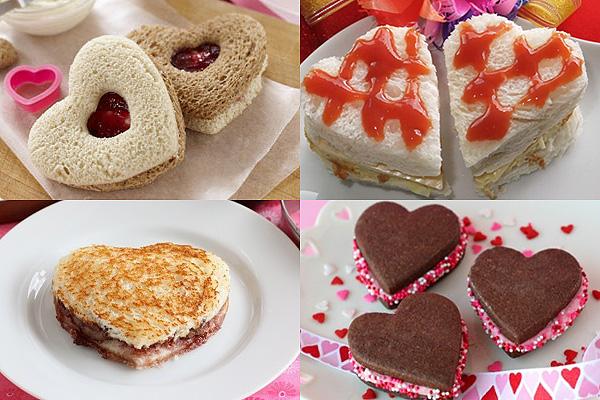 блюда на день влюбленных, меню на валентина, красивые блюда фото