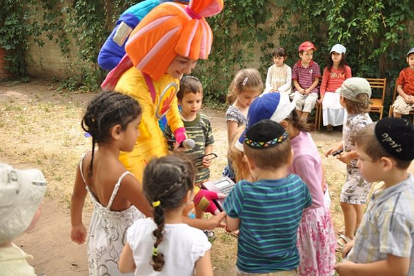Конкурсы на детских праздниках на улице